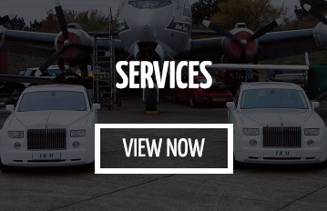 wedding car hire Oaklands